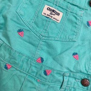 OshKosh B'gosh Bottoms - Osh'Kosh Overall Shorts 24m